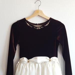 Other - ▪︎Jayne Copeland▪︎Girl's Embroidered Formal Dress